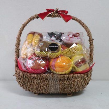 Flower Gift Korea fruit basket for people in Seoul