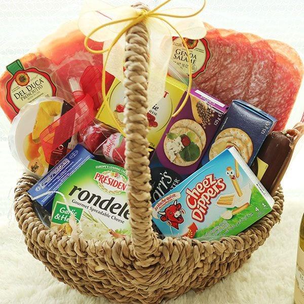 cheese deli basket gift korea seoul