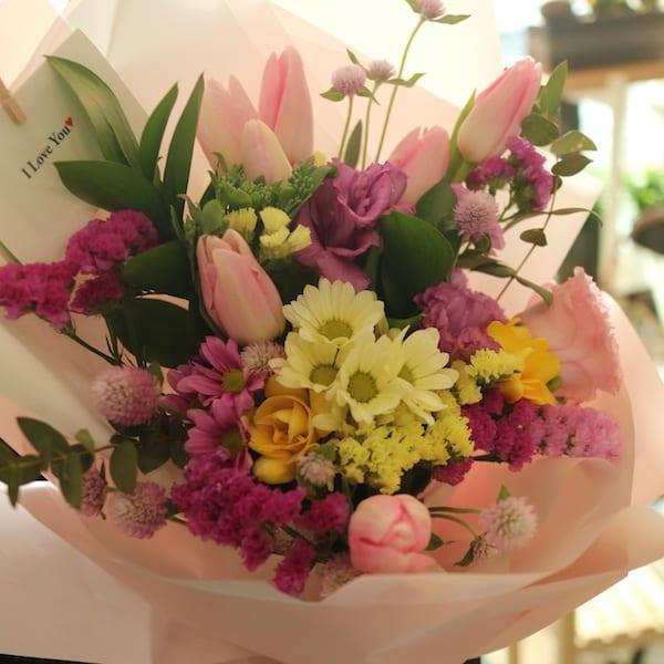 Purple Beauty Flower Bouquet