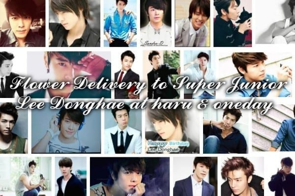 Gift Delivery To Super Junior Lee Donghae Haru Oneday