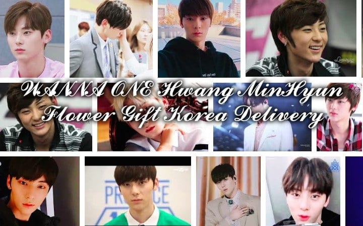 Hwang Minhyun Korea kpop flower gift delivery | Flower