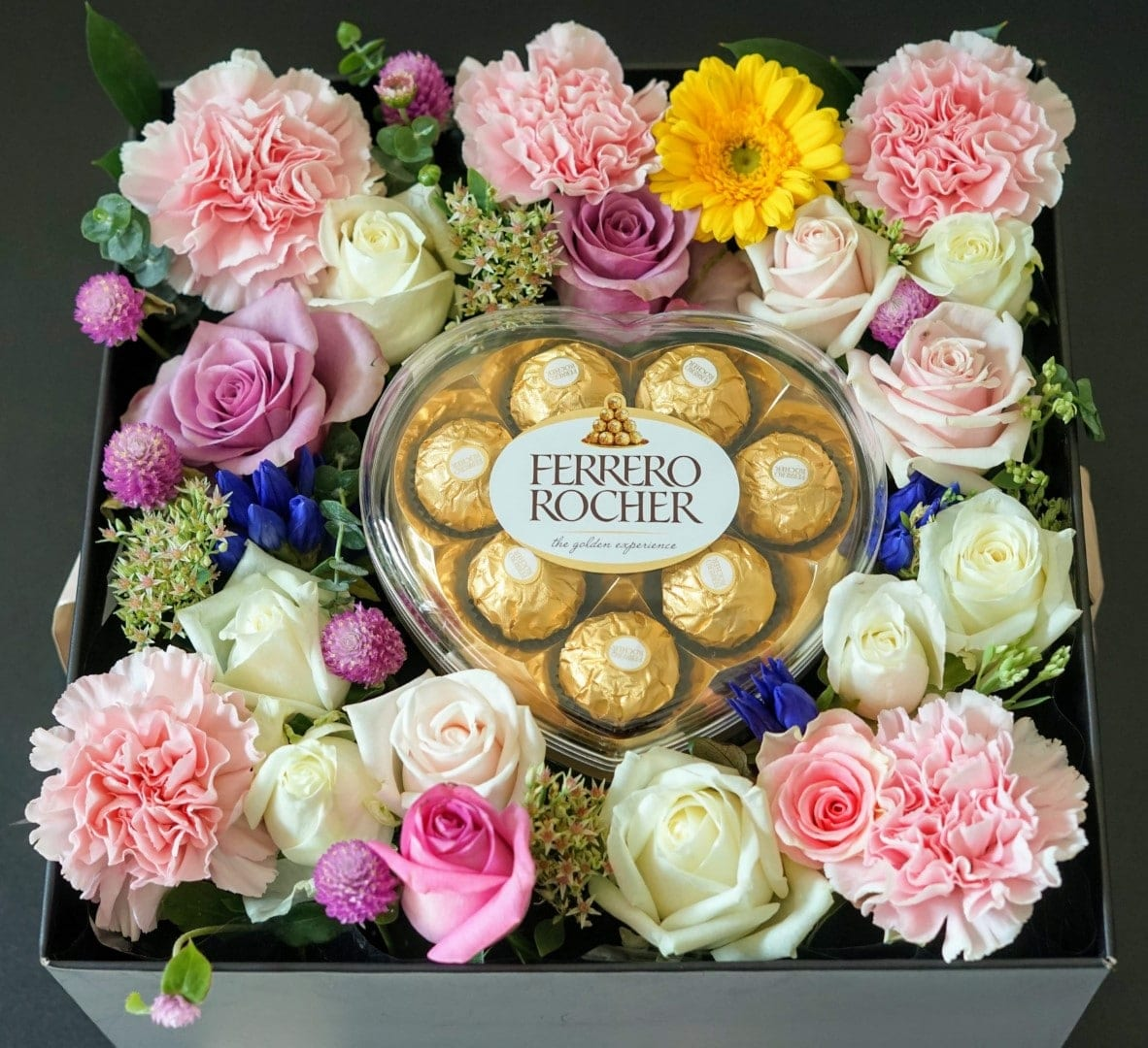 Fgk S Large Flower Box Chocolate Love Flower Chocolate