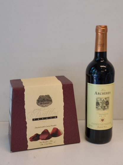 French truffles and red wine